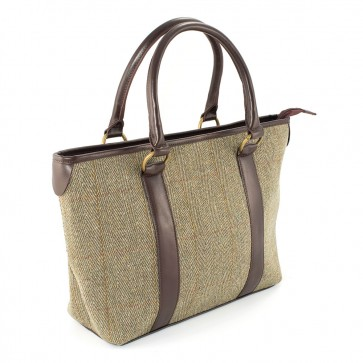 Dawn Tote Bag Gold Stripe