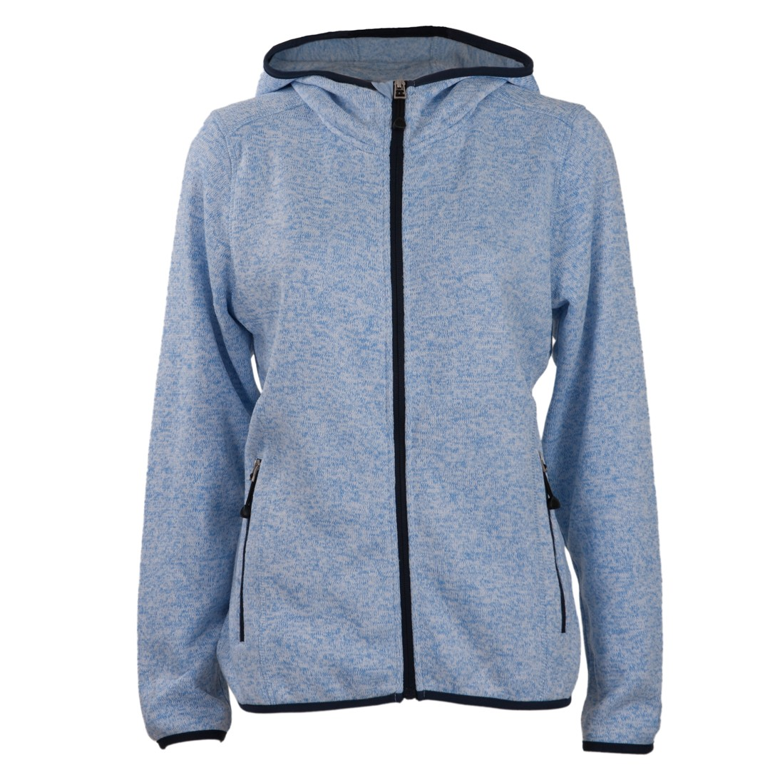 Hans Schäfer Strickfleece Damen-Blau-38